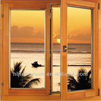 Good Quality Solid Wood French Style Windows