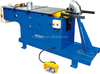 HJTF1250 Top quality down pipe elbow forming machine for ventilation