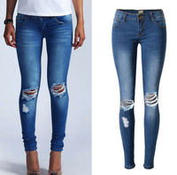z88267A hot sale tops and jeans photos lady jeans women apparel denim jeans