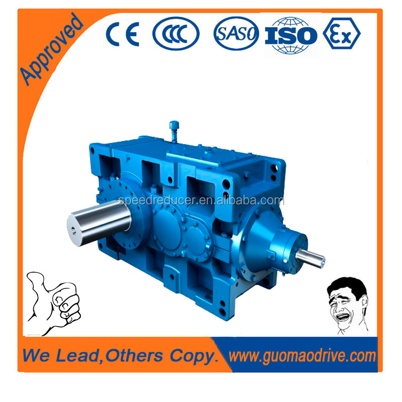 Heavy truck Transmission ratio high rpm gearbox H/B1 DM