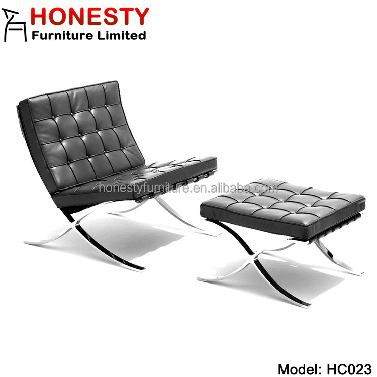 HC023 Buy Very Cheap Replic Modern Design Office Furniture Barcelona Chair Sofa from Foshan China Online