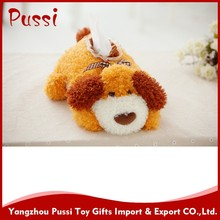 Handstand dog plush toys,lucky knitted dog toy