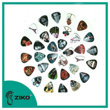 the best custom guitar picks,celluloid guitar pick