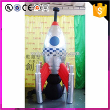 Good shape promotional products giant inflatable rocket