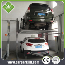 2 Post Hydraulic Motor Smart 2 Floor Space Saving Car