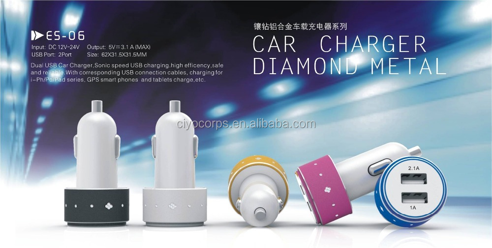 2016 Hot universal car charger for laptop and mobile custom usb car charger