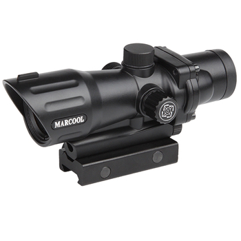 Marcool 1x30 red dot optical laser sight for outdoor hunting 5.56/ .308 caliber