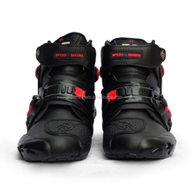 Hot Sell Waterproof Leather Motocross Boots A09001