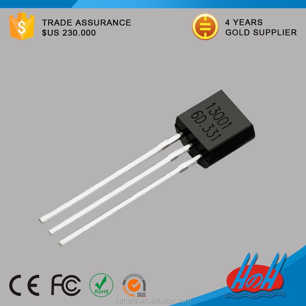 HZH (ic) 13001 Transistor TO-92