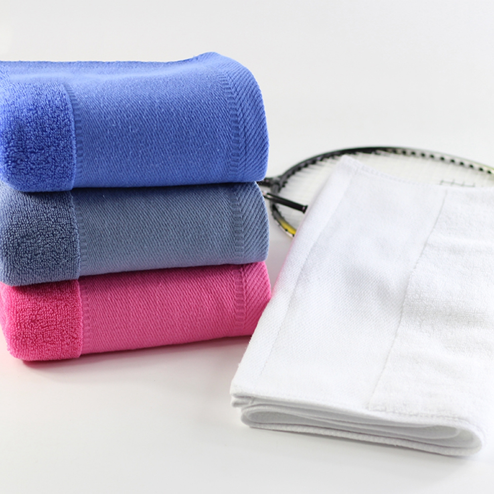 China best price 100 cotton fabric adults gym towel with custom logo