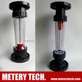 Plastic Tube Rotameter Variable Area Flowmeter