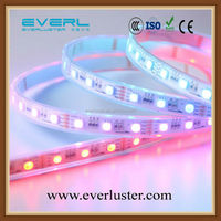 SMD 5050 magic rgb 5050 rechargeable led strip light with power supply