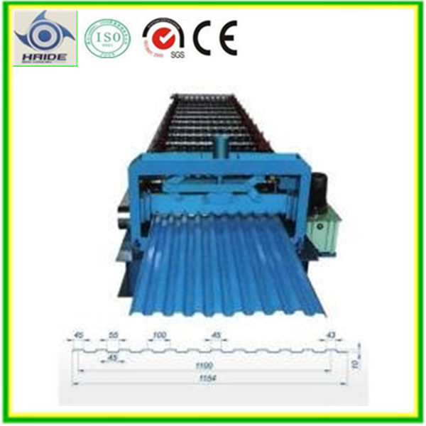 whole life after sale service Tiles Making metal roofing sheet cold roll forming Machine