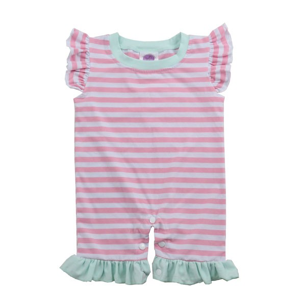 Wholesale Romper Stripped Boy Jon Jon Baby Wear