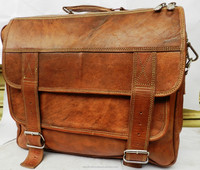 real leather messenger bag from india