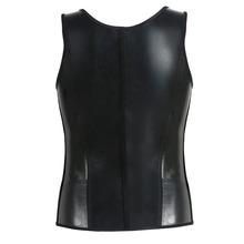 Wholesale new 3 hook latex waist trainer vest for men big size corset
