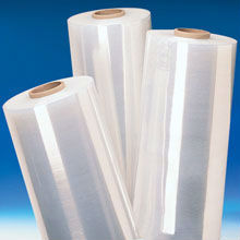 low noise clear good grade stretch wrap film