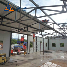 low cost modern prefabricated steel frame house