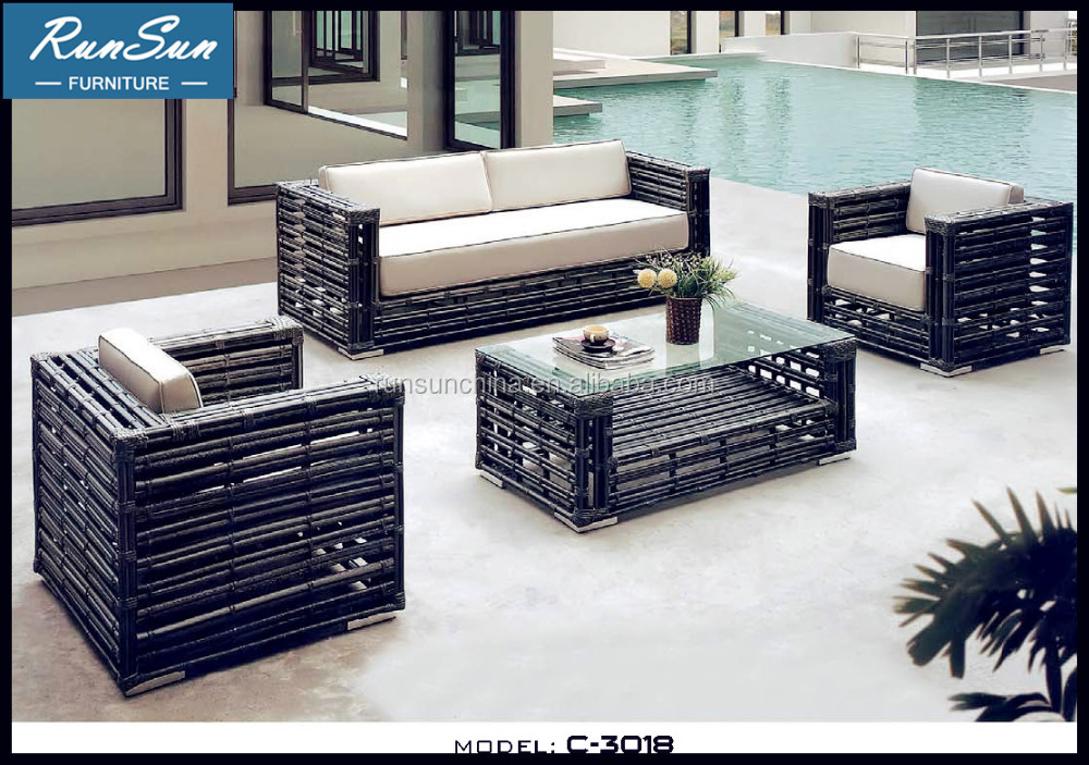 Wholesale New Market Outdoor Rattan Patio Furniture Set