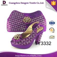High Quality Italian Matching Shoes Bags Packaging Bag For Party TY3332