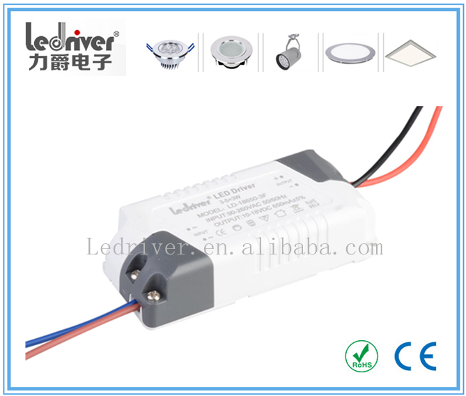 Professional Manufacturer IP66 Single Output 260Vac Waterproof Power Supply DC 5V Outdoor Led Driver