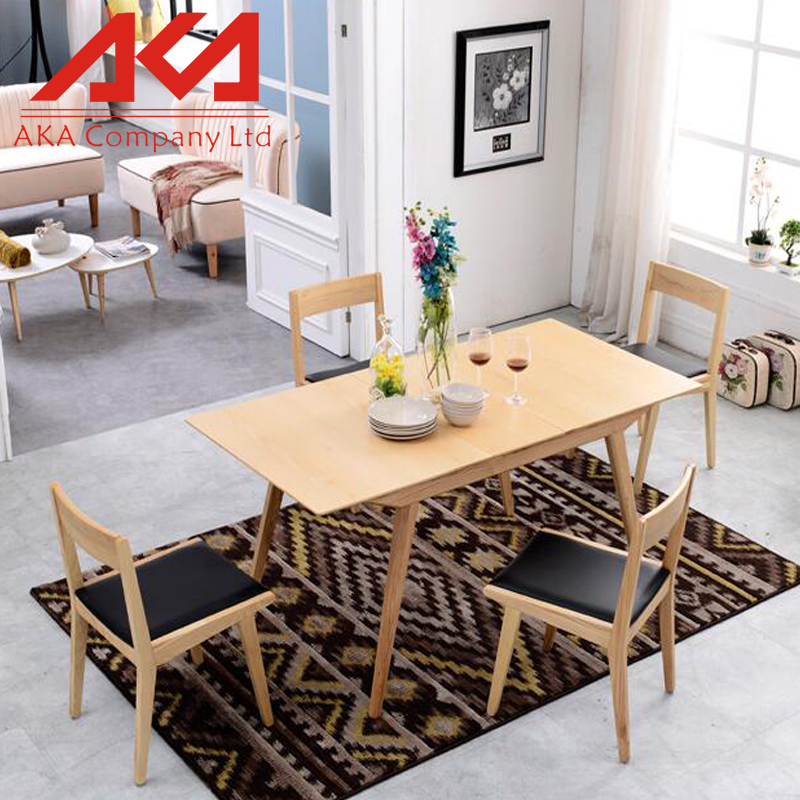 Chinese Factory Sell Wooden Cheap Kitchen Table Sets For Kitchen Room