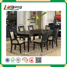 Italian Design Wood Carved Golden Dining Table With Chairs/ Palace Royal Dining Room Furniture, Wooden