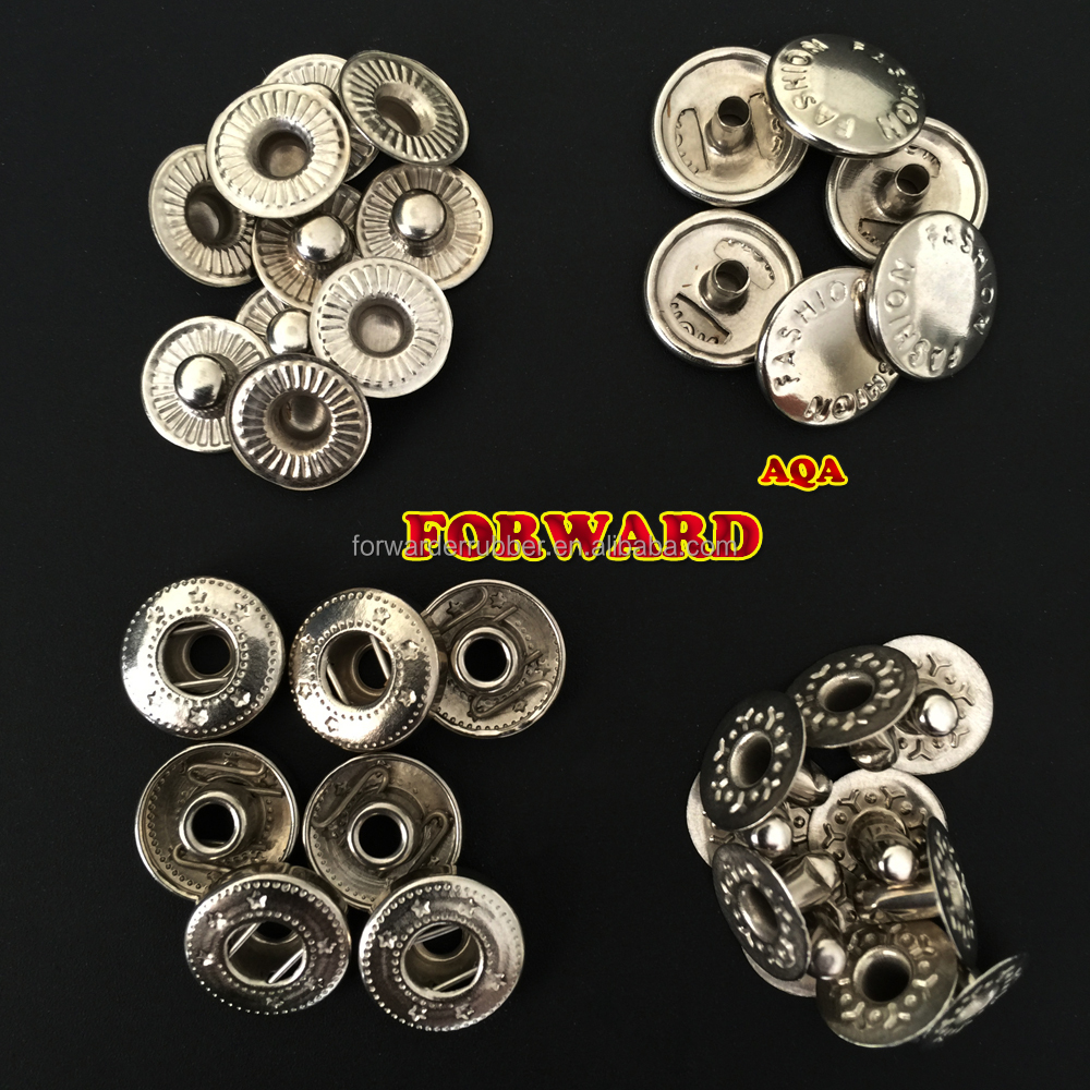 high quality fashion metal snap button for garment or jeans