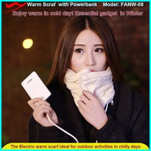 5V USB battery electric neck warmer