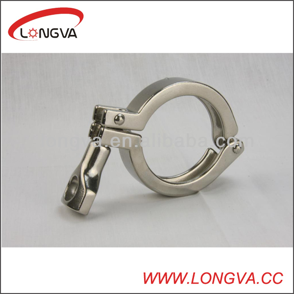 sanitary s.s triclover pipe clamp