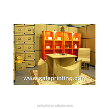 Good Quality Corrugated Cardboard Shop Retail Display Table For Household Appliances