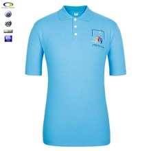 High Quality 100% Cotton Pique Mens Customized Polo T Shirts With My Company Embroidered Logo