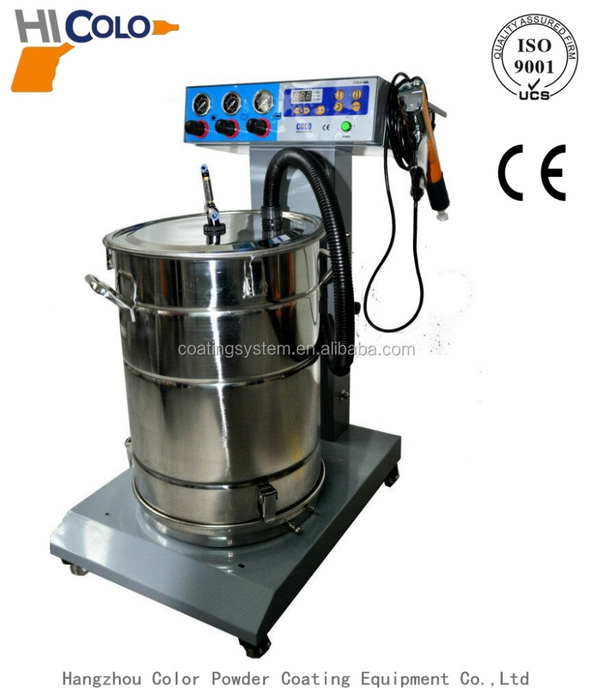 Pre-programmed Controller Powder Coating Equipment