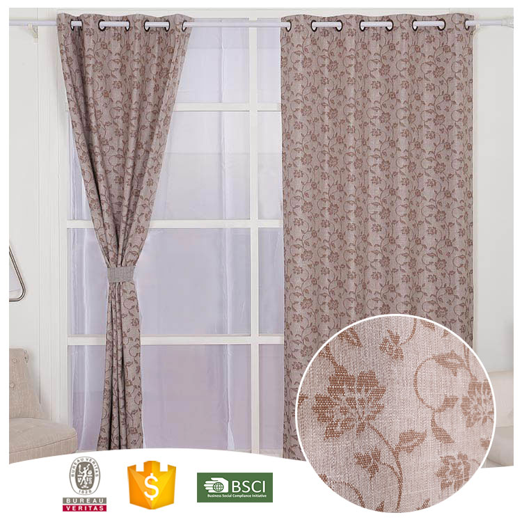 Most Popular Famous Brand Beautiful lace cotton curtains