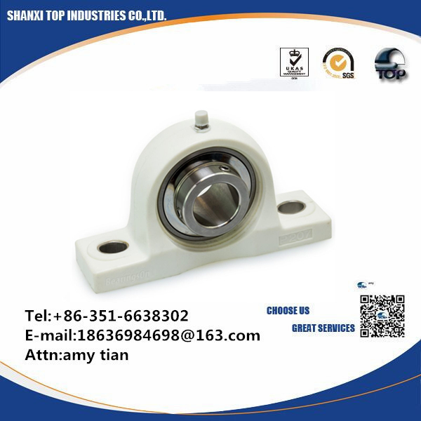 Bearings On Pillow Block Mounted Unit