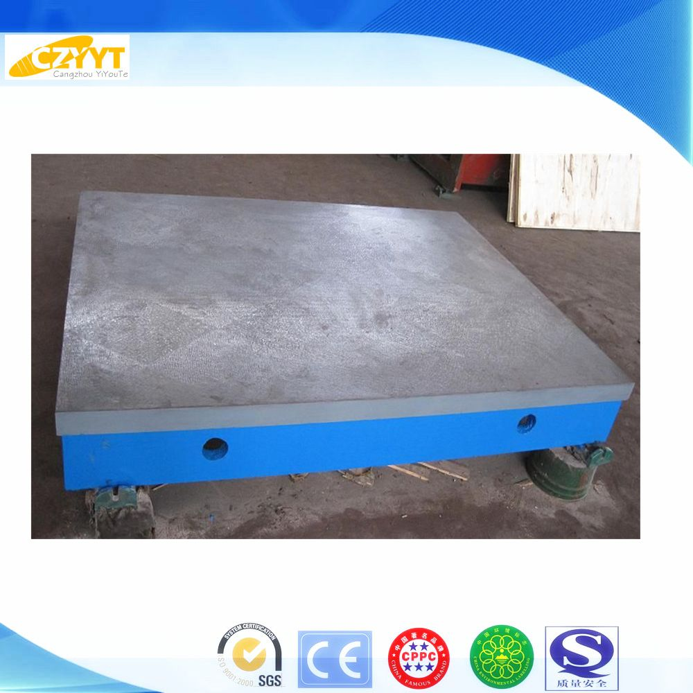 high quality soldering iron planing surface grinding machine cast iron T-slot floor plate with CE certificate