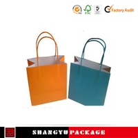 China factory direct t shirt shopping bag in paper bags
