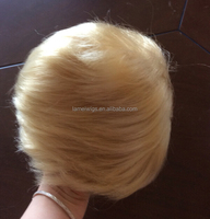 F6580 short hair wigs,synthetic hair wigs,donald trump wig