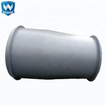 Wodon High quality surfacing welding abrasion resistant pipe and fittings
