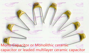 YXS MLCC/MONOLITHIC CAPACITOR 154 150NF 10% Pin Pitch 5.08mm 50V