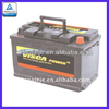 Hot Produce and Export Various Color Lead Acid Low Maintenance, Wet Charge or Dry Vehicle Battery MF58043 12V80AH