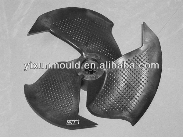 air moving component plastic product Plastic injection fan mould