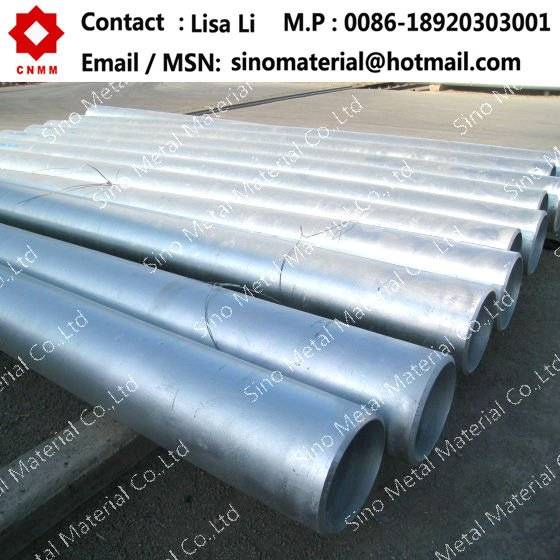 Large diameter galvanized welded steel pipe