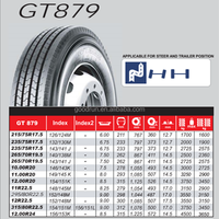 GITI GT879 12R22.5 16PR used truck tire for sale