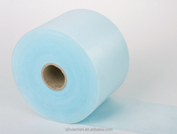 high quality spun lace non woven fabric roll
