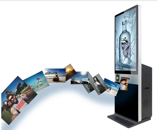 2019 new discount 46 47 65 inch mirror photo booth digital signage selfie booth touch screen kiosk