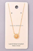 Fashion necklace 22k gold jewelry gold jewelry design wholesale NSNK-34259