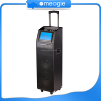 New product wireless powerful trolley speaker with mic