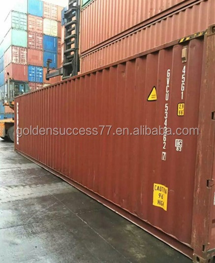 cargo container for sale in China SOC container 40ft hc used container
