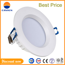 long life span round shell 15W surface mount led downlight